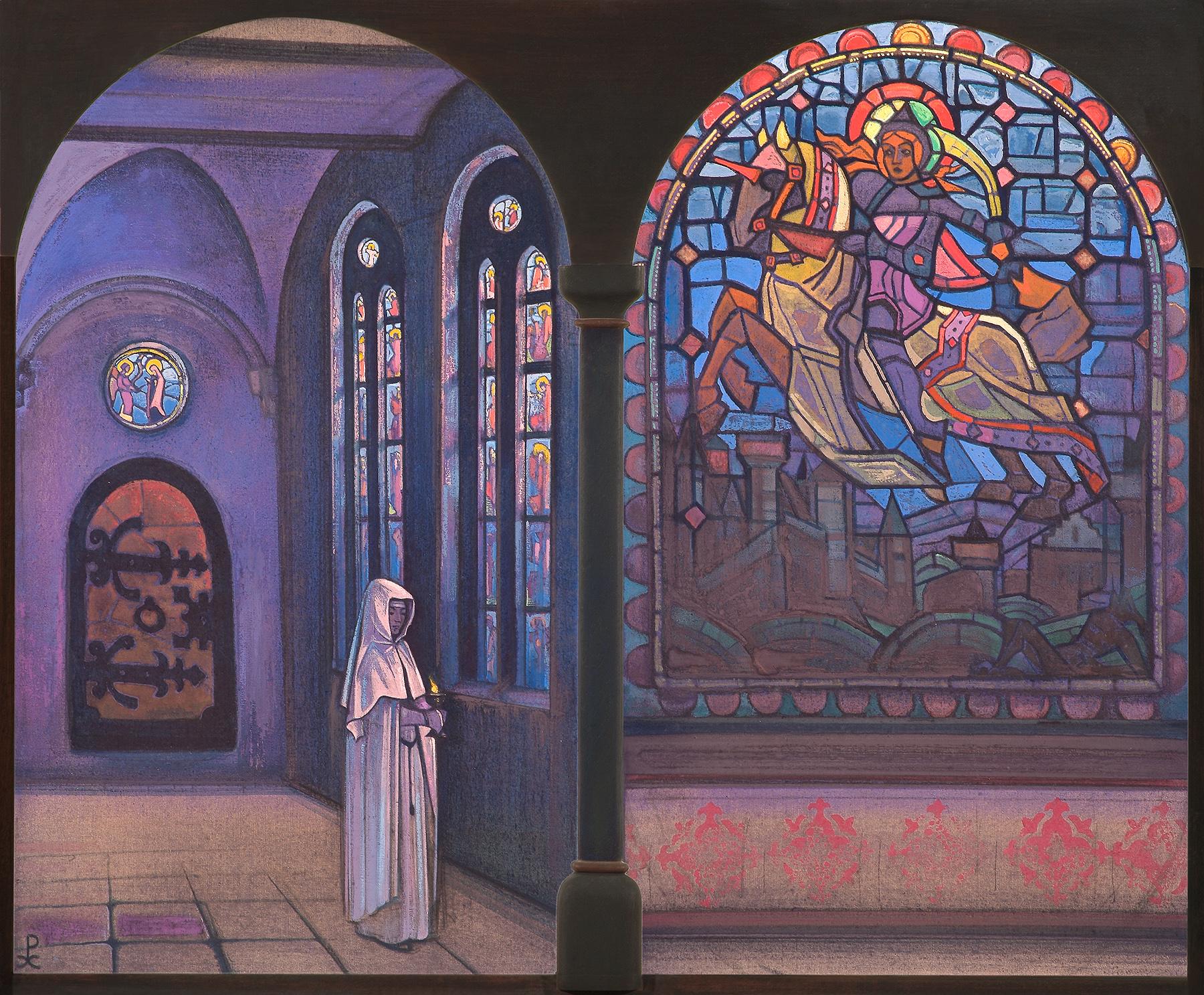 Glory to the hero, Nicholas Roerich