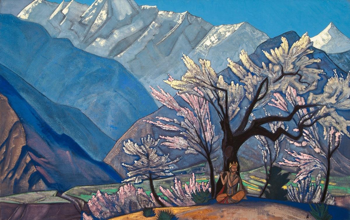 Krishna (Spring in Kulu), Nicholas Roerich