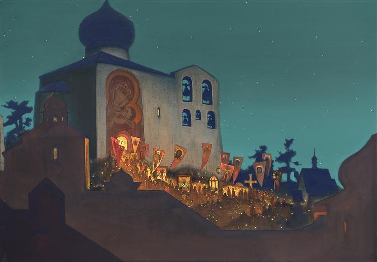 Russian Easter, Nicholas Roerich